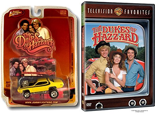 the-dukes-of-hazzard-television-favorites-compilation-daisy-dukes-road-runner-die-cast-car-set