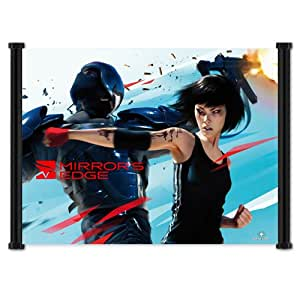 Mirror's Edge Game Fabric Wall Scroll Poster (21x16) Inches