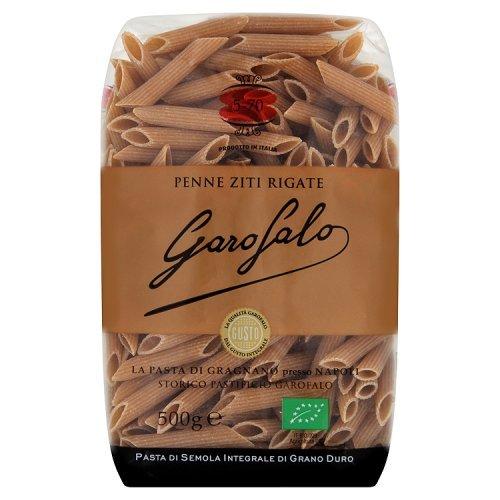 Garofalo Pasta Seca Penne Rigate Integral - 500 gr