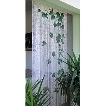 Unbekannt Bambusvorhang Turvorhang Bamboo Xl Ca 115x220 Cm Amazon