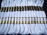 25weiß Anker Nähprogramme Garnknäuel Baumwolle Stickgarn Floss von London–der GCS besten Preis