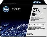 HP 27X (C4127X) Schwarz Original Toner mit hoher Reichweite für HP Laserjet 4000, HP Laserjet 4050