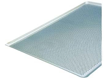 Cuisineonly - Plaque aluminium perforée 60X40X2 cm. Cuisine : Cuisson (plaques)