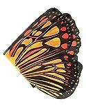 DREAMY DRESS-UPS 50559 - Disfraz de alas de Mariposa (Talla única), Naranja