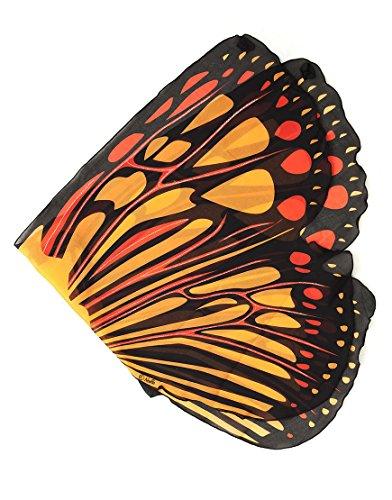 Dreamy Dress-Ups 50559Wings, Flügel, Orange Burst Butterfly, Schmetterling orange
