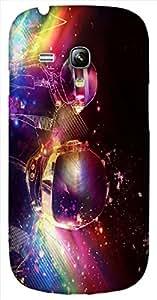 Timpax protective Armor Hard Bumper Back Case Cover. Multicolor printed on 3 Dimensional case with latest & finest graphic design art. Compatible with Samsung S-3Mini - I8190 Galaxy S III mini Design No : TDZ-26021