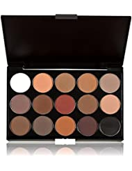 Tefamore 15 Colors Women Neutral Nudes Warm Eyeshadow Palette (A)