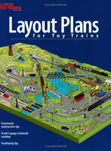 Layout Plans for Toy Trains by Kent J. Johnson (2001-09-01)