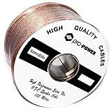 Hi Rendimiento Extra Flexible OFC 105 Hebra Altavoz Cable Rollo 100 m