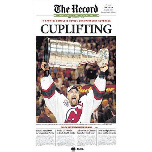 Nhl Poster Shop (Steiner Sports NHL New Jersey Devils Scott Stevens Poster, Drucke von Bergen)