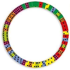 Vilac - 2479 - Jouets En Bois - Domino Alphabet En Cercle Réversible