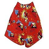 Titrit red cotton girls shorts