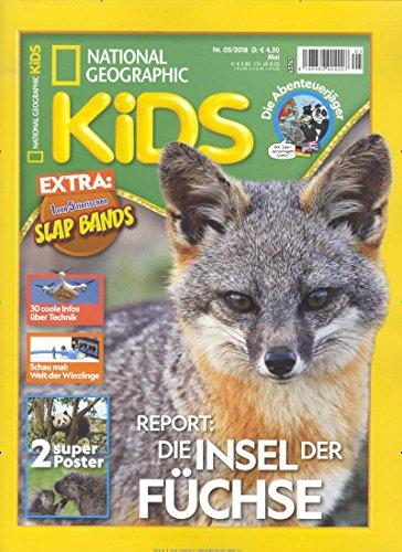 National Geographic Magazin (National Geographic Kids [Abonnement jeweils 10 Ausgaben jedes Jahr])