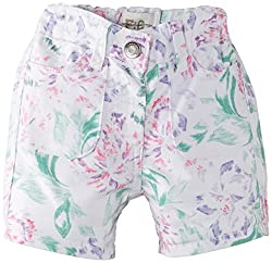 French Connection Kids Girls Shorts (FCN1758_Summer White_14-15Y)