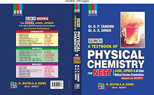 GRB A Textbook of Physical Chemistry for Neet (2019-2020 Examination)
