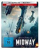 Midway - Für die Freiheit UHD 4K Steelbook (exkl. Amazon) [Blu-ray]