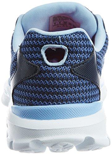 SkechersGo Walk 3 Fit Knit - Scarpe da Ginnastica Basse donna Blu (Blu (Nvlb))