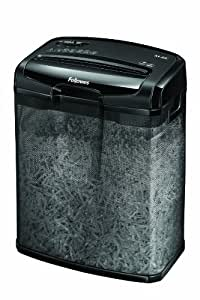 Fellowes Powershred M-6C Cross-Cut Personal Shredder - Black