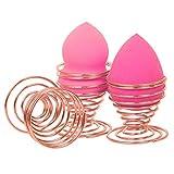 TRIXES 2 Stück RoseGold Ständer för Ihre Make-Up Schwämme aus