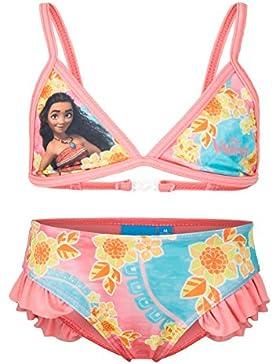 Disney Vaiana - Costume 2 Pezzi Bikini con Volant Full Print Mare Piscina - Bambina - Novità Prodotto Originale 41