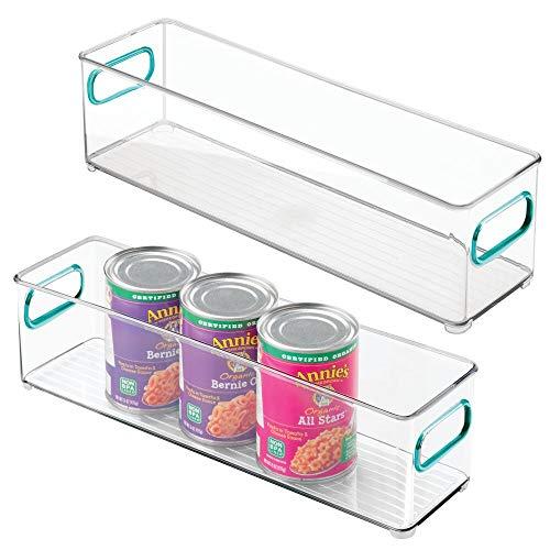 MDesign Juego 2 fiambreras frigorífico - Cajas plástico