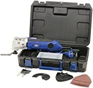 Ford 300 Watts Multi Tool with Quick Lock System Corded Electric Variable Speed Oscillating Multi Tool with Ac