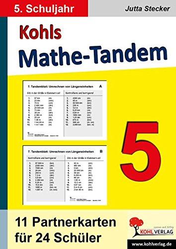Kohls Mathe-Tandem 5: Partnerrechnen im 5. Schuljahr