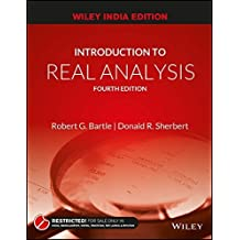 Introduction to Real Analysis, Fourth Edition [Wiley India Edition] by Robert G. Bartle (2014-08-25)