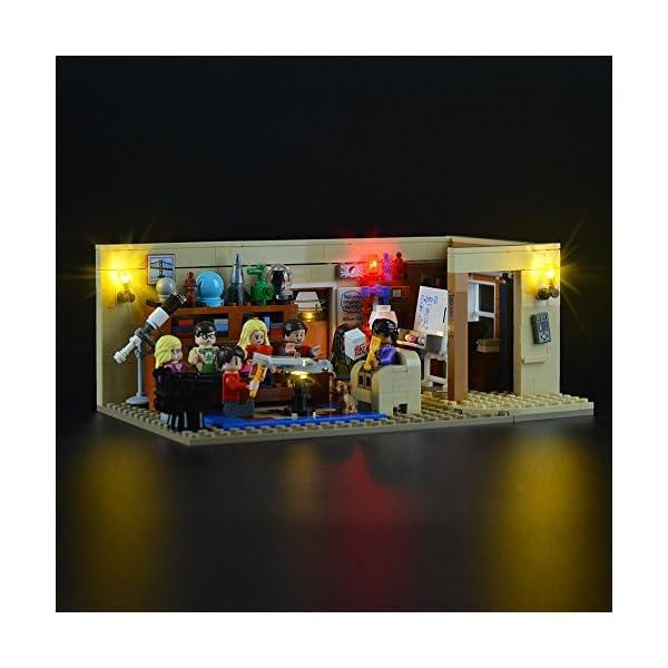 LIGHTAILING Set di Luci per (Ideas The Big Bang Theory) Modello da Costruire - Kit Luce LED Compatibile con Lego 21302… 2 spesavip
