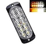 Xiaomu Luci di Coda Natalizie Lampada Laterale Luci stroboscopiche universali Luci per Auto 12 LED