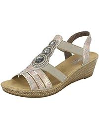16be5efa7e33c Amazon.co.uk  Rieker - Sandals   Women s Shoes  Shoes   Bags