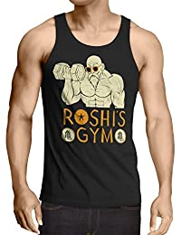 style3 Roshi Dragon Master Herren Tank Top turtle ball z songoku