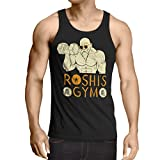 style3 Roshi Dragon Master Herren Tank Top turtle ball z songoku, Größe:XL