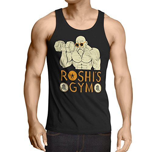 style3 Roshi Dragon Master Camiseta de tirantes para hombre Tank Top t