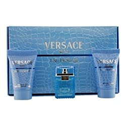Thinkpichaidai Versace Man Eau Fraiche By Gianni Versace For Men Edt . 17 Oz Mini & After Shave Balm . 8 Oz Mini & Shower Gel . 8 Oz Mini