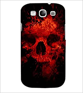PrintDhaba Scary Skeleton D-4341 Back Case Cover for SAMSUNG GALAXY S3 (Multi-Coloured)