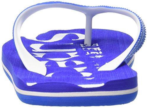 Superdry Flip Flop, Tongs Homme Multicolore - Multicolore (Electric Blue/Optic/CobaltWBI)