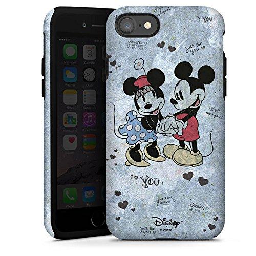 Apple iPhone X Silikon Hülle Case Schutzhülle Disney love Merchandise Geschenke Tough Case glänzend