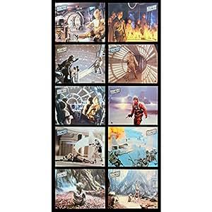 STAR WARS - L'EMPIRE CONTRE ATTAQUE Photos de film x10 Jeu B 21x30 - 1980 - Harrison Ford, Irvin Keshner
