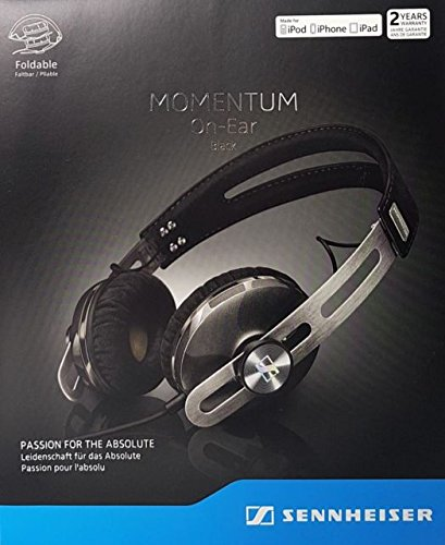 Foto Sennheiser Momentum 2.0 Cuffie On-Ear per Apple iOS, Nero