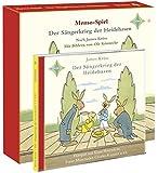 Der Sängerkrieg der Heidehasen - CD und Memospiel: 1 CD, 33 Minuten. 48 Karten, 6 x 6 cm in stabiler Stülpschachtel mit vielen Spielideen im Beiheft. ... und Klaus Havenstein. Musik von Rolf Wilhelm.