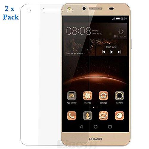 2 x Huawei Y5 II Schutzfolie, EJBOTH Glasdisplayschutz Displayschutzfolie Touch Kompatibel Panzerglas Displayschutz Handy schutz Screen Protector 9H Hardness Gehärtetem Glas