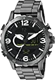 Fossil Nate Casual Analog-Digital Black ...