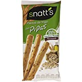 Snatt's - Palitos de trigo cin pipas 62 gr - Pack de 5 (Total 310 grams)