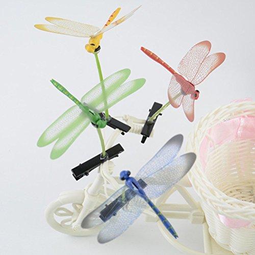 cuhair (TM) bébé fille cadeau Love Manga en couleurs assorties mixte 10 de chou de libellule conception Barrettes Clip Broches cheveux accessoires