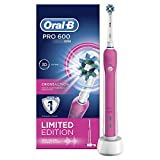 Oral-B New Pro 600 Pink - Limited Edition With Sound Connectivity