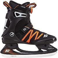 K2 Herren Fitness Schlitt-/Eishockey-/Eislaufschuhe Fit Ice BOA, schwarz-orange, 25B0001.1.1