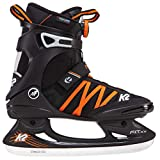 K2 Herren Schlittschuhe Fit Ice Boa - Schwarz-Orange - EU: 44.5 (US: 11 - UK: 10) - 25B0001.1.1.110