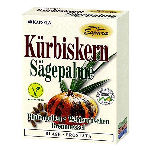 Espara Kürbiskern-Sägepalme Kapseln 60 Stck.