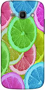 Snoogg Citrus Refresh Designer Protective Back Case Cover For Samsung Galaxy ...